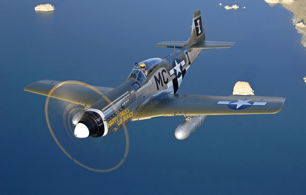 """Picture """"Happy Jacks Go Buggy"""", P-51D Mustang, North American"""