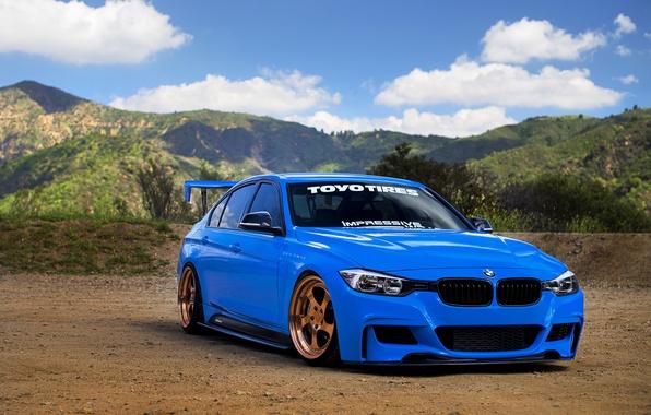 Picture car, tuning, bmw, BMW, sedan, tuning, rechange, 3 series, hq Wallpapers