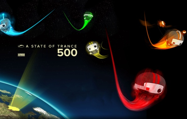 Picture trance, ASOT, Armin van buuren, A state of trance 500, radio show