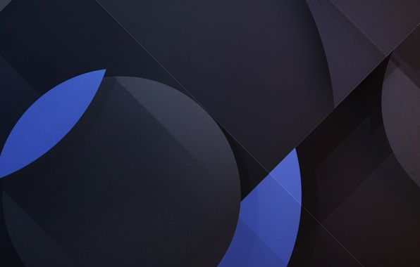 Picture circles, blue, texture, Android, geometry