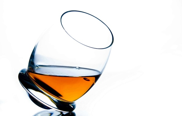 Picture glass, background, widescreen, Wallpaper, glass, white background, wallpaper, form, glass, cognac, widescreen, background, full screen, …