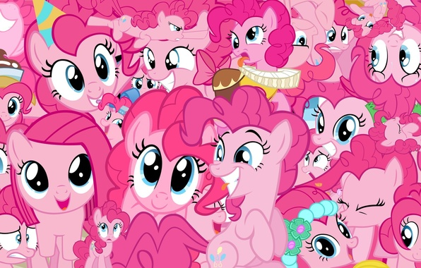 Picture Pink, My Little Pony, Pony, Pinkie Pie, Multfilm