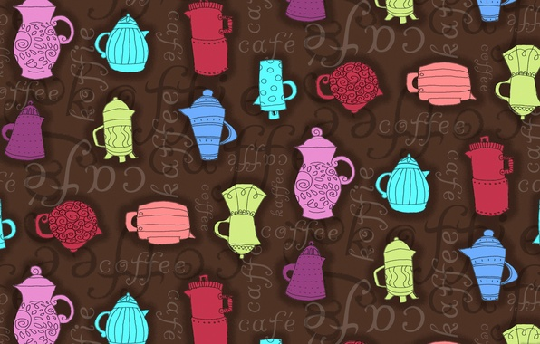 Picture text, figure, coffee, kettle, coffee pot