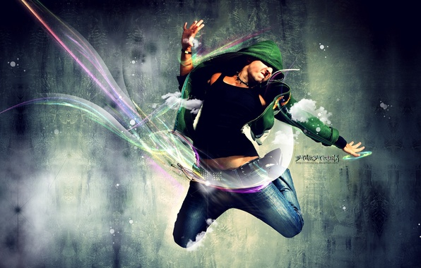 Picture style, dance, guys
