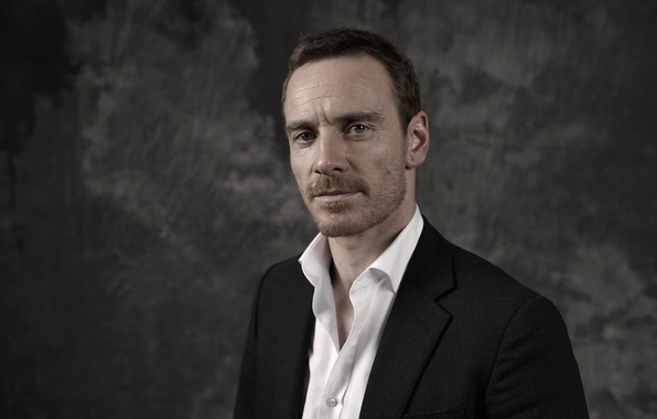 Picture photographer, actor, photoshoot, Steve Jobs, Steve Jobs, Michael Fassbender, Michael Fassbender, for the film, Gareth …