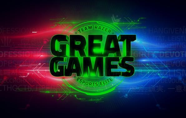 Photo Wallpaper Razer Great Games Team GG