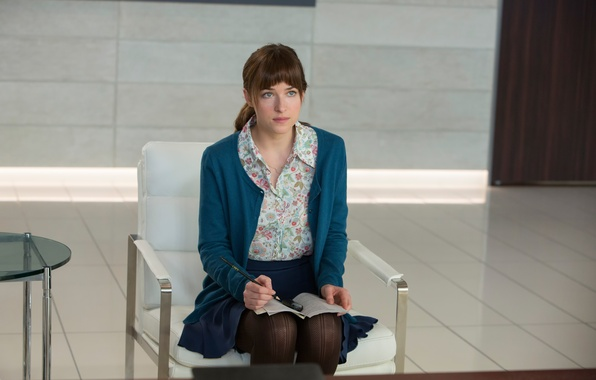 Picture Dakota Johnson, Fifty shades of grey, Fifty Shades of Grey, in the film