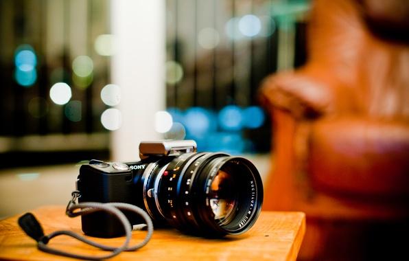 Picture the camera, sony, Sony, alpha, nex-5