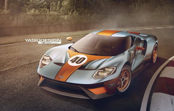 Picture Concept, Ford, Car, Race, Track, 2017, Yasid Design