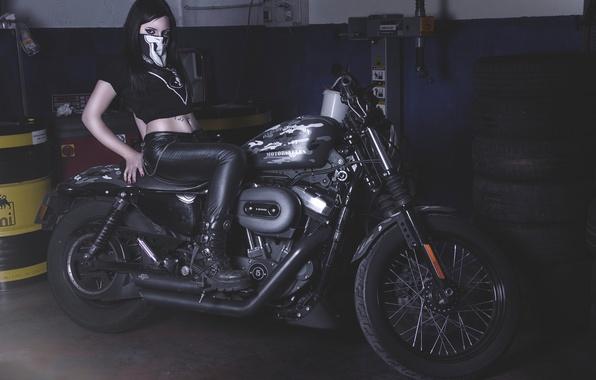 Wallpaper motorcycle girl harley davidson garage images for photo wallpaper motorcycle girl harley davidson garage sciox Image collections