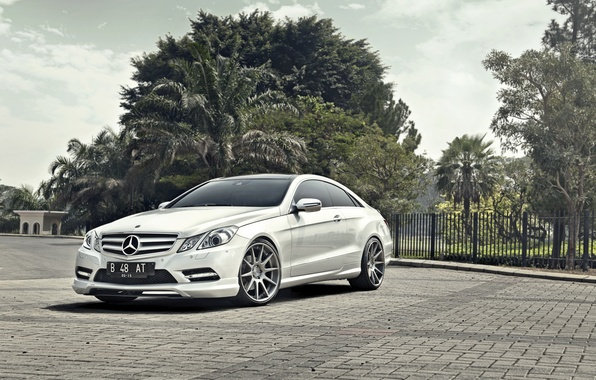 Picture auto, coupe, Mercedes, Mercedes-Benz E-Class Coupe