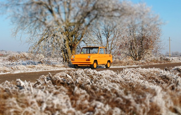 Picture Made in USSR, microcar SMZ, SMZ С3Д