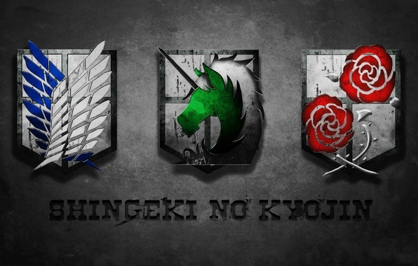 Picture logo, game, anime, wings, team, horse, asian, roses, human, manga, Military Police, unicorn, japanese, oriental, …