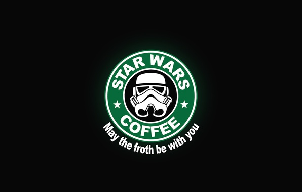 Wallpaper Logo Coffee Starwars Images For Desktop Section Raznoe Download
