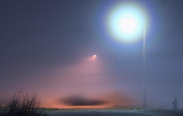 Picture fog, lighting, Lantern