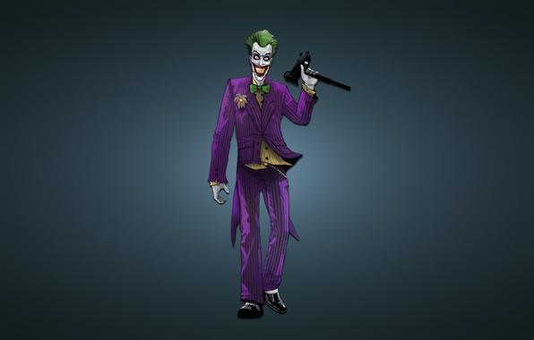 Picture weapons, batman, Joker, Batman, machine, joker, comic