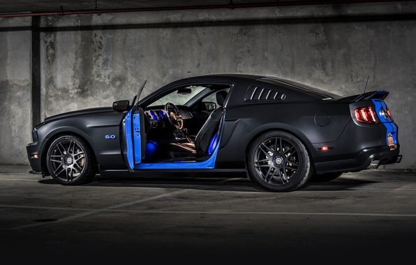 Picture ford mustang, muscle car, rechange, hq Wallpapers