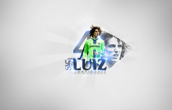 Picture Sport, Football, Football, Chelsea, Chelsea, David Luiz, Stamford bridge, David Luiz, Stamford Bridge, Player