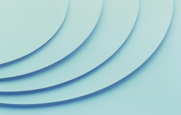 Picture circles, blue, texture