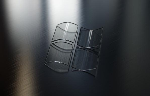 Picture glass, light, glare, windows, Logo