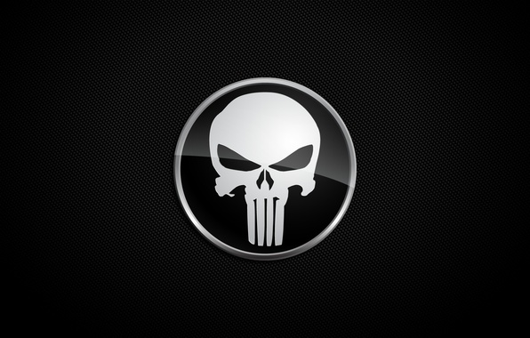 Picture background, skull, Punisher