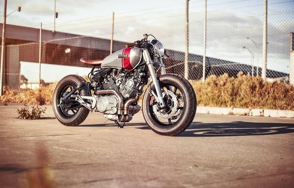 Photo wallpaper bike, moto, motorcycle, yamaha