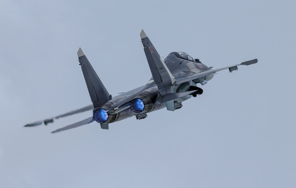 Picture weapons, army, the plane, Su-30SM