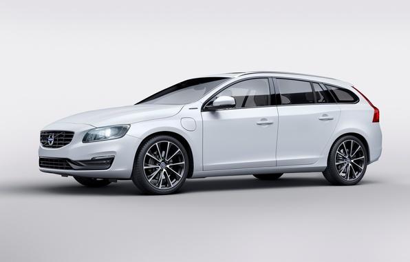 Picture Volvo, Volvo, V60, 2015, Twin Engine