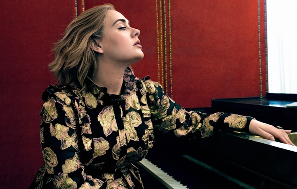 Picture singer, photoshoot, composer, Adele, Adele, Vogue, 2016, Adele Laurie Blue Adkins, contralto
