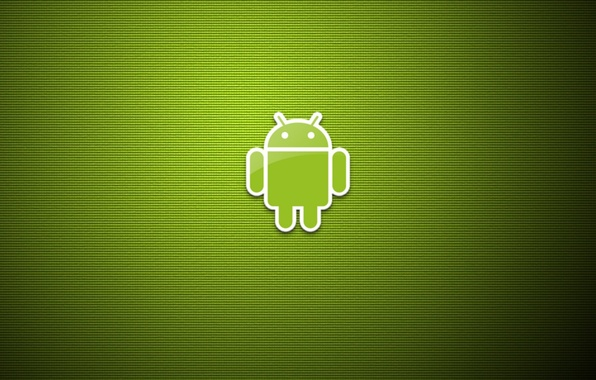 Picture Minimalism, Android, Android, Green, green background, art