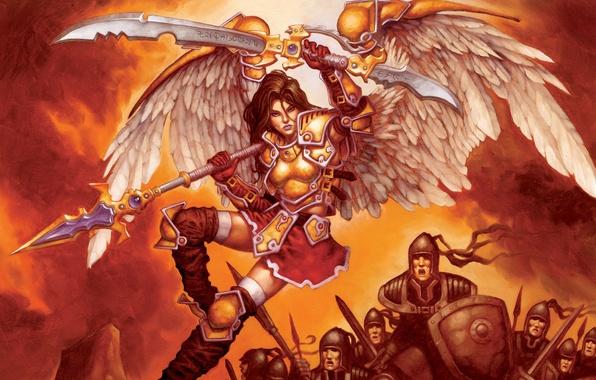 Picture weapons, wings, war, Serra Avenger