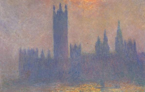 Wallpaper Picture The Urban Landscape Claude Monet The