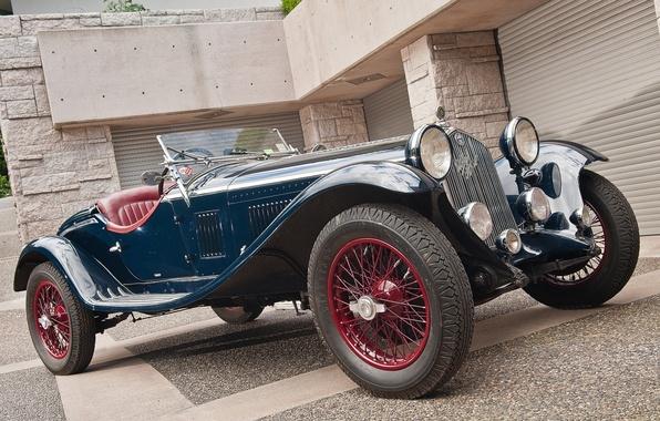 Photo wallpaper Alfa Romeo, classic, Zagato, 1930, 1750 GS, 1932 design