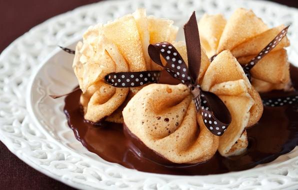Picture food, chocolate, pancakes, food, chocolate, sweet, dessert, pancakes, sweet, desserts