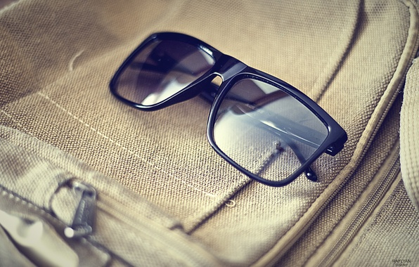 Picture summer, style, reflection, heat, glasses, bag, fashion, black