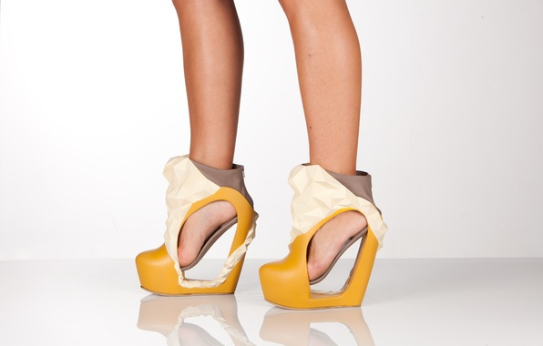 Picture shoes, shape, heels