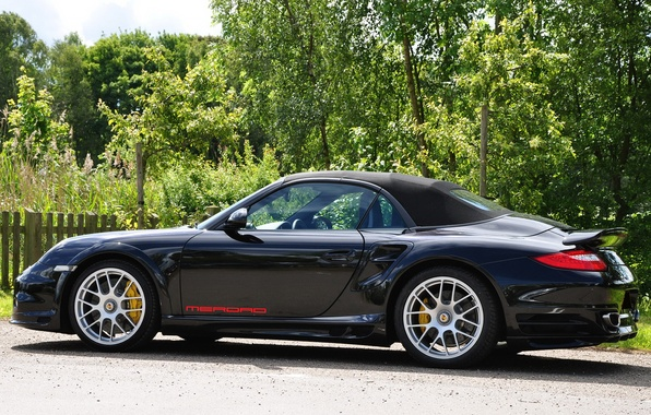 Picture car, auto, 911, Porsche, convertible, cabriolet, merdad, black., sports, Porsche 911, 650 r ss