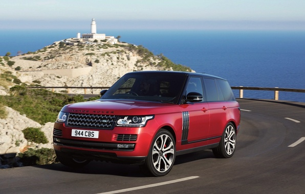 Picture road, car, auto, Land Rover, Range Rover, road, SVAutobiography