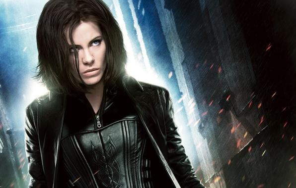 Picture costume, Kate Beckinsale, vampire, Kate Beckinsale, in black, Underworld: Awakening, Selene, Underworld: Awakening