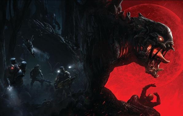 Picture Monster, Goliath, 2K Games, Evolve, Goliath, Turtle RockStudios