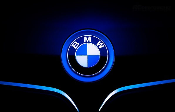 Picture icon, BMW, the hood, BMW, front, label
