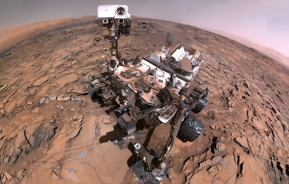 Picture Mars, the Rover, Curiosity, Curiosity