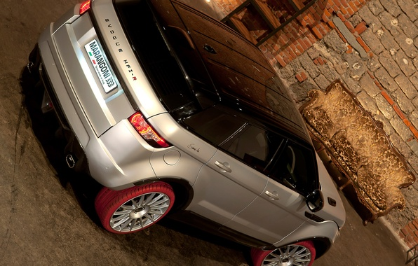 Picture Wallpaper, SUV, Land Rover, Range Rover, rear view, Marangoni, HFI-R