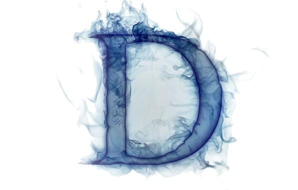 Picture smoke, gas, letter, Litera
