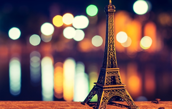 Picture Eiffel tower, Paris, paris, bokeh