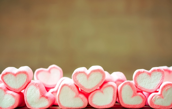 Picture love, romance, candy, hearts, love, heart, romantic, sweet, sweet, candy, marshmallows