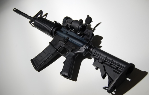 Picture weapons, background, machine, assault rifle, AR-15, assault rifle