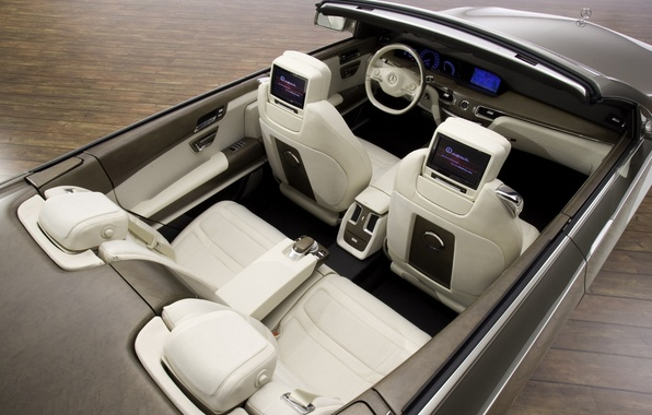 Picture concept, convertible, Mercedes-Benz