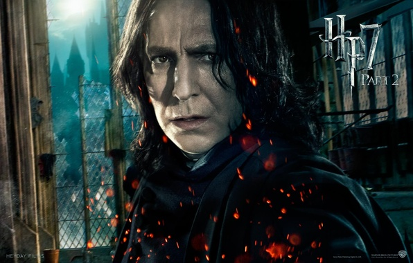 Picture Hogwarts, part 2, professor, Severus Snape, HP 7, Alan Rickman, Harry Potter and the Deathly …