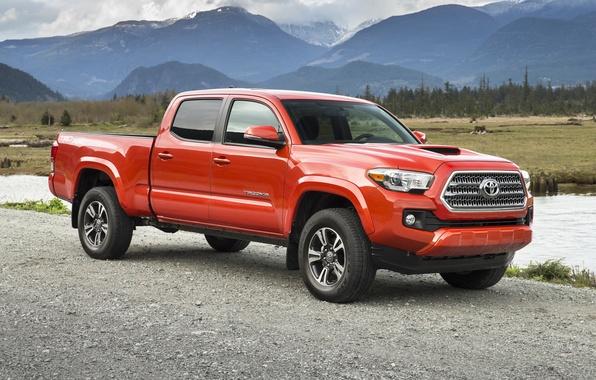 Picture Toyota, Toyota, Sport, Double Cab, TRD, Tacoma, 2015, Tacoma